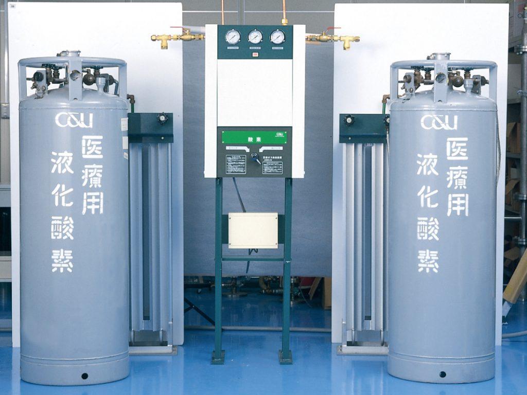液化ガス供給装置 | 香川で産業ガス・医療ガスを販売供給する株式会社 ...